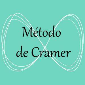 Álgebra. Acceso a ejercicios y problemas del método de Cramer