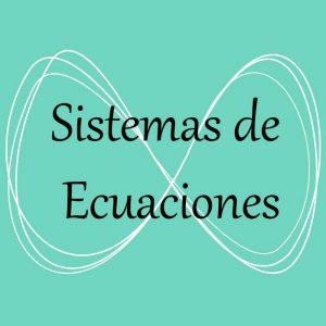 Álgebra. Acceso a ejercicios y problemas de sistemas de ecuaciones