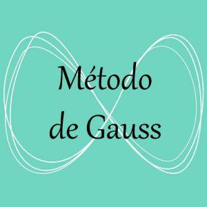 Álgebra. Acceso a ejercicios y problemas del método de Gauss