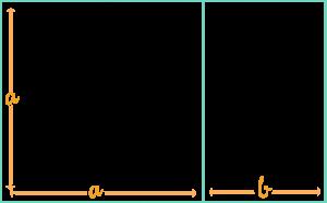 Un rectángulo es áureo si al dividirlo en un cuadrado y un rectángulo, los lados del rectángulo resultante están en proporción áurea